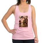 Snow White 2 PINK Racerback Tank Top