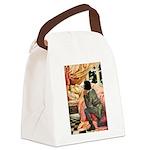 Sleeping Beauty Canvas Lunch Bag