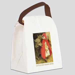 Little Red Riding Hood_gold Canvas Lunch Bag
