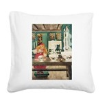 GOLDILOCKS Square Canvas Pillow