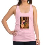Babes in the Wood_red Racerback Tank Top