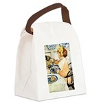 Breakfast Buddies Canvas Lunch Bag
