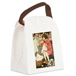A Childs Book-Sewing Canvas Lunch Bag