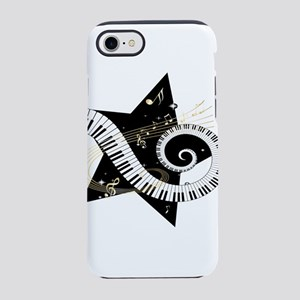 Musical star iPhone 7 Tough Case