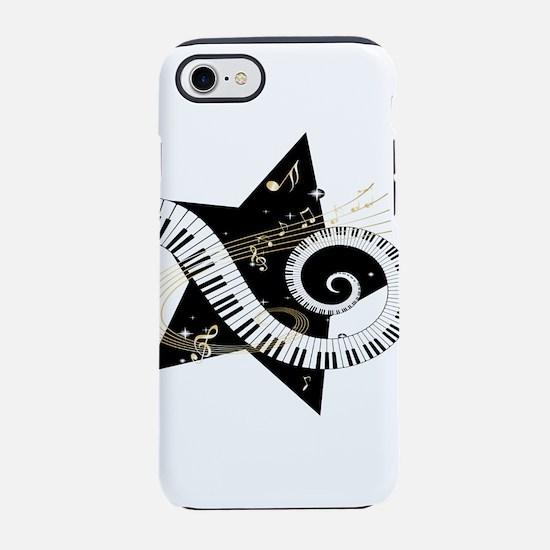 Musical star iPhone 7 Tough Case