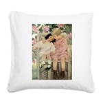 A Childs Book - brotherly love Square Canvas P