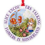 Alice Talking Flowers_PURPLE copy Round Orname