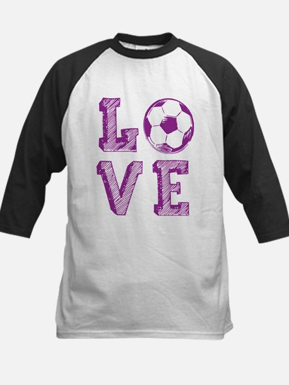 Girly Love Soccer Baseball Jersey