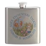 Alice Talking Flowers_BLUE copy Flask