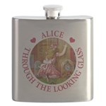 Alice THROUGH THE LOOKING GLASS_RED copy Flask