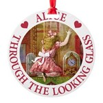 Alice THROUGH THE LOOKING GLASS_RED copy Round