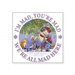 ALICE MAD HATTER WHY BE NORMAL_PURPLE copy Squ