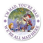 ALICE MAD HATTER WHY BE NORMAL_PURPLE copy Rou