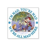 ALICE MAD HATTER WHY BE NORMAL_blue copy Squar