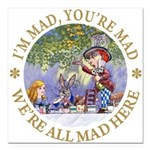 ALICE MAD HATTER WHY BE NORMAL_RED copy Square