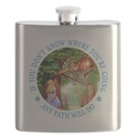 ALICE CAT ANY PATH WILL DO_BLUE copy Flask