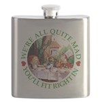 ALICE_ Were all Mad_GREEN copy Flask