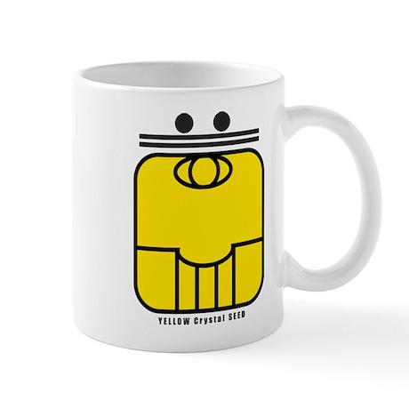 YELLOW Crystal SEED Mug