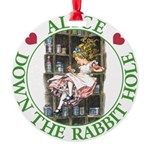 ALICE DOWN THE RABBIT HOLE_GREEN copy Round Or