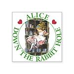 ALICE DOWN THE RABBIT HOLE_GREEN copy Square S