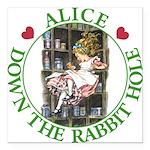 ALICE DOWN THE RABBIT HOLE_GREEN copy Square C