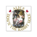 ALICE DOWN THE RABBIT HOLE_GOLD copy Square St