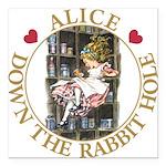 ALICE DOWN THE RABBIT HOLE_GOLD copy Square Ca