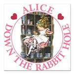 ALICE DOWN THE RABBIT HOLE_PINK copy Square Ca