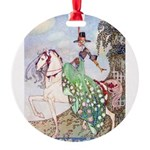 In Powder and Crinoline012_SQ Round Ornament