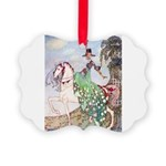 In Powder and Crinoline012_SQ Picture Ornament