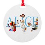 ALICE & FRIENDS Round Ornament