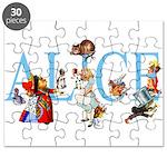 ALICE & FRIENDS Puzzle