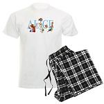 ALICE & FRIENDS Men's Light Pajamas