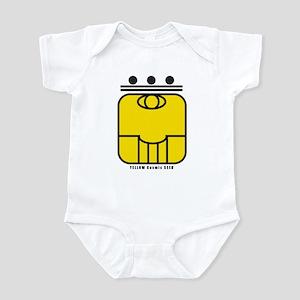 YELLOW Cosmic SEED Infant Bodysuit