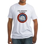 47TH INFANTRY DIVISION Fitted T-Shirt