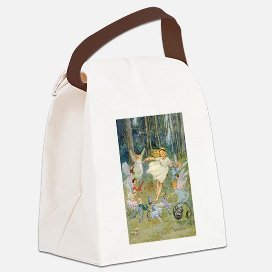 dancing in the fairy Canvas Lunch Bag