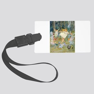 dancing in the fairy Large Luggage Tag