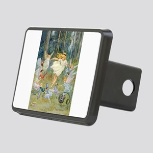dancing in the fairy Rectangular Hitch Cover