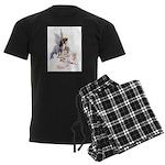 WATER BABIES022xx copy Men's Dark Pajamas