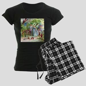 gnomes010_SQ Women's Dark Pajamas