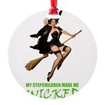 witch STEPCHILDREN wicked copy.png Round Ornament