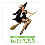 witch STEPCHILDREN wicked copy.png Square Car Magn