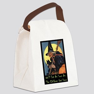 2-WITCH - WELL EAT 10x14 Canvas Lunch Bag