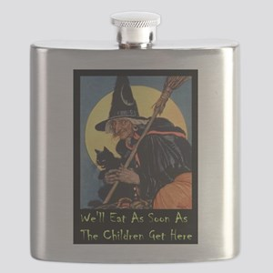 2-WITCH - WELL EAT 10x14 Flask