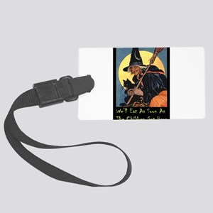 2-WITCH - WELL EAT 10x14 Large Luggage Tag
