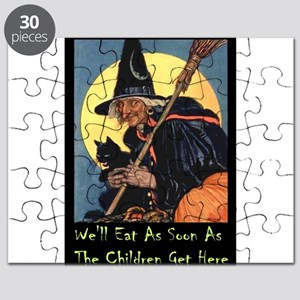 2-WITCH - WELL EAT 10x14 Puzzle