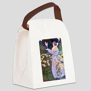 The Rose Fairies002x_10x14 Canvas Lunch Bag