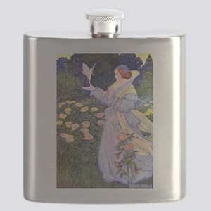 The Rose Fairies002x_10x14 Flask