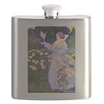 The Rose Fairies002x_10x14 Flask