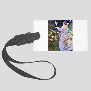 The Rose Fairies002x_10x14 Large Luggage Tag